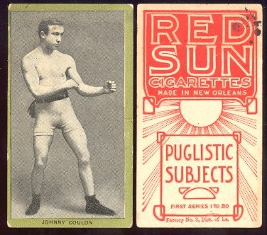 1910 T226 Red Sun regular (Boxing) Card# 10 johnny coulon VGX Condition