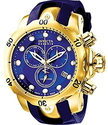 Invicta Men's 6113 Venom Quartz Chronograph Blue Dial Watch