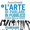 L'arte di parlare in pubblico Audiobook by Franca Grimaldi Narrated by Franca Grimaldi