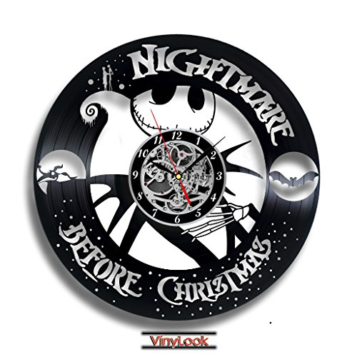 The Nightmare before Christmas Sally Vinyl Record Wall Clock. Decor for your kids room. Gift for baby. Leave a feedback for (Can Can Sally Child Costume)