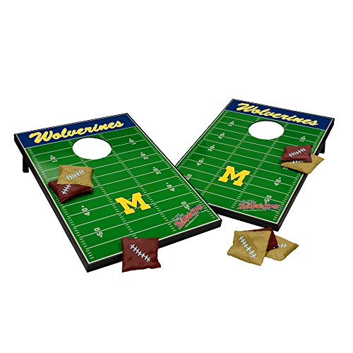 Wild Sports NCAA Tailgate Toss Cornhole Set, Michigan Wolverines (Ncaa Corn Hole compare prices)