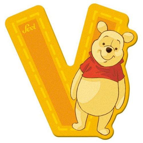 Sevi 82780 Klebebuchstabe V Winnie the Pooh