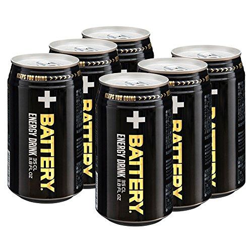 バッテリー(BATTERY) エナジードリンク 350ml×6本