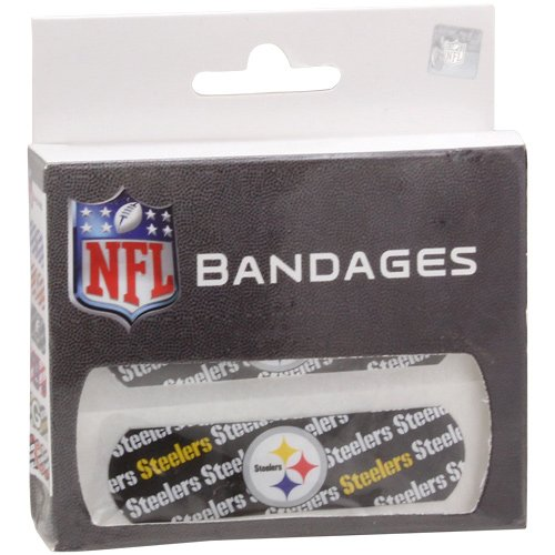 NFL Pittsburgh Steelers Bandages-Pack of 3