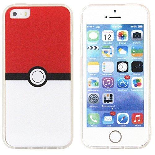 iPhone-5-iPhone-5S-iPhone-se-Pokemon-mvil-Pokeball-estilo-mvil-para-iPhone-5S-iPhone-se-Pokemon-Go-mvil