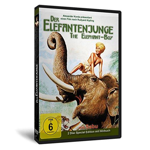 Der Elefantenjunge - SABU - DVD + Hörspiel CD [2 DVDs] [Special Edition]