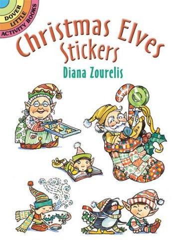 Christmas Elves Stickers (Dover Little Activity Books Stickers)