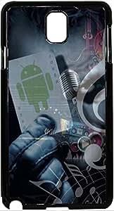 FCS Printed 2D Designer Hard Back Case For Samsung Galaxy Note 3 Design-20426