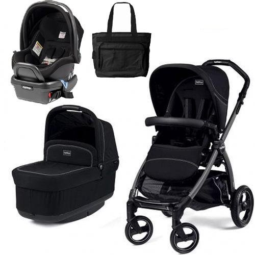 Peg Perego - Book Pop Up Travel System - Onyx front-763305