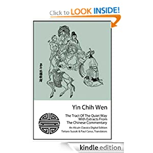 Yin Chih Wen: The Tract Of The Quiet Way