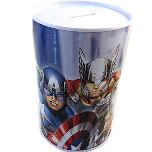 Money box in metallo 'Avengers'multicolore.