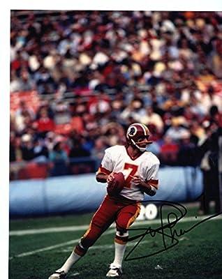 Joe Theismann Washington Redskins Autographed Signed 8x10 Photo
