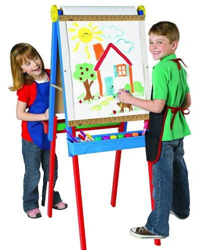 A Fun Place To Draw, Paint And Doodle - Cra Z Art 3 In 1 Artist Easel