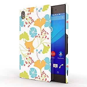 Koveru Designer Protective Back Shell Case Cover for SONY XPERIA Z4 - Lily Pattern