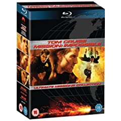 Mission Impossible Trilogie Blu-ray