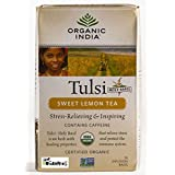 Organic India Organic Tulsi Sweet Lemon Tea (18 Tea Bags)