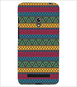 PrintDhaba Pattern D-5250 Back Case Cover for ASUS ZENFONE 5 A501CG (Multi-Coloured)