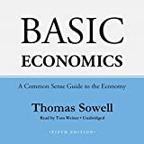 img - for By Thomas Sowell Basic Economics, Fifth Edition: A Common Sense Guide to the Economy (Unabridged 5th) [Audio CD] book / textbook / text book