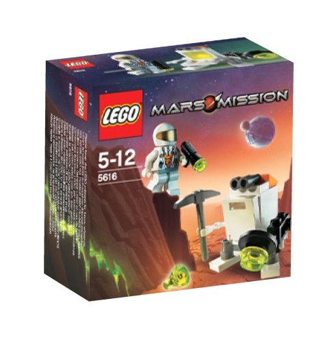 Lego Mars Mission Exclusive Mini Figure Set #5616 Mini Robot Amazon.com