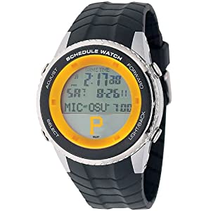 Pittsburgh Pirates Game Time Schedule Wrist Watch P Logo by Game Time