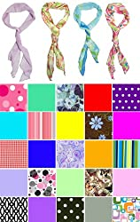 Club Pack of 12 Women's Contemporary Stylish Scarves
