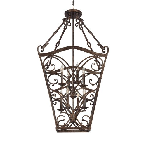 Rustic Foyer Pendant Lighting : Capital lighting rt foyer with clear glass shades