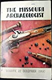 Indian Trade Guns: The Missouri Archaeologist - Volume 22 , December 1960