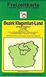 Bezirk Klagenfurt - Land. 1:75000. Ausgabe 1991/92