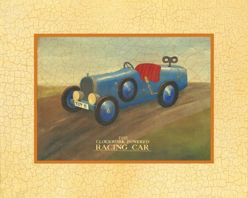 "Art 4 Kids ""Racing Car"" Mounted Art Print, 20""X16"" front-1016946"