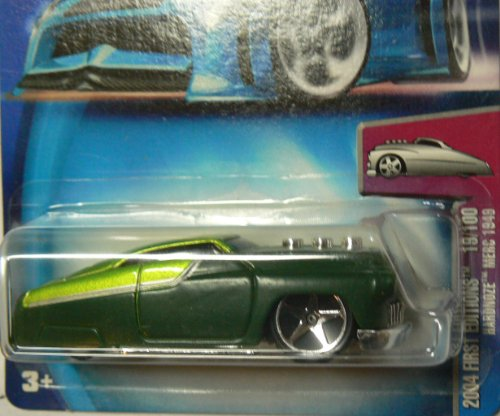 Hot Wheels 2004 First Editions Hardnoze Merc 1949 19/100 Collector #019 on Alternate Card - 1