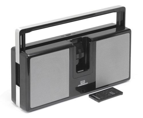 MTX ITHUNDER White Portable Ipod Boom Box