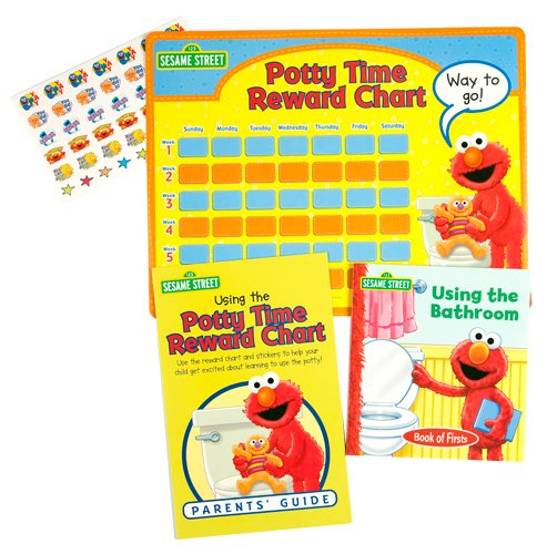 Elmo's Potty Time Book and Reward Chart (Elmo Potty Reward Chart compare prices)