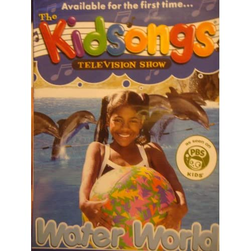 """Amazon.com: DVD """"The Kidsongs - Water World"""" Available for the First"""