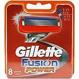 Gillette Fusion Power 8-Pack Razor Blades 100% ORIGINAL & GENUINE
