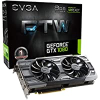 EVGA GeForce GTX 1080 FTW ACX 3.0 8GB Gaming Card + NVIDIA GIFT + NVIDIA Gift