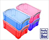 Asstd Lot of 9L Litre Really Useful Plastic Boxes* 4 Boxes only £29.96 * -that's just £7.49 a box- Free UK Mainland delivery