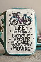 Natural Life Art and Soul Cosmetic Bag, Life Like Riding