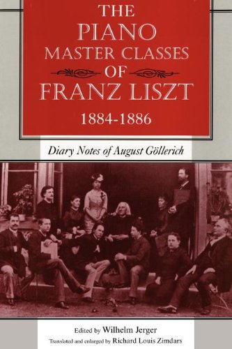 The Piano Master Classes of Franz Liszt, 1884 - 1886