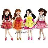 「Barwawa」4枚セット リカちゃん ドレス 手作り リカちゃん用 洋服 可愛い