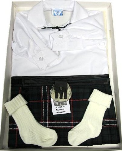 Babies' Scottish National Kilt Outfit Age 12 - 24 Months