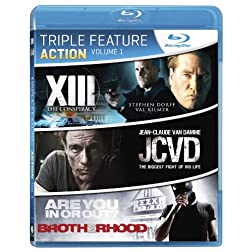 Action Triple Feature Volume 1 [Blu-ray]