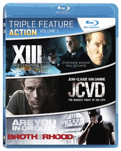 Action Triple Feature, Vol. 1 (XIII: The Conspiracy / JCVD / Brotherhood) [Blu-ray]