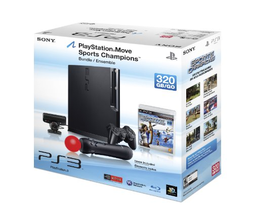 PlayStation 3 320GB Console with Move Bundle