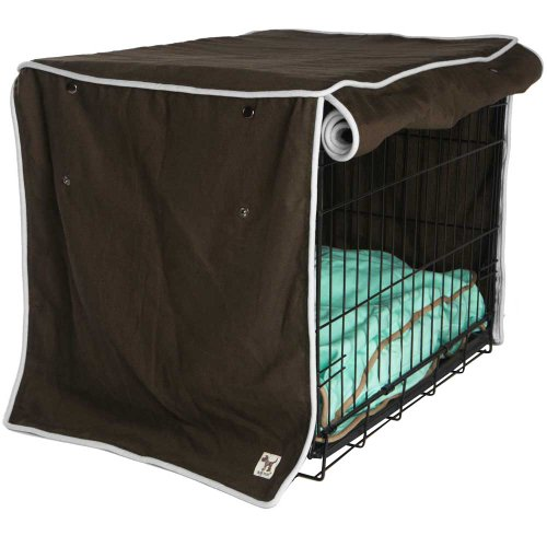 Side By Side Dog Crates front-1051494