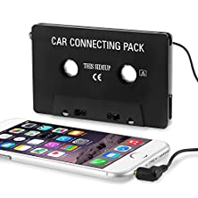 buy Insten Car Audio Cassette Adapter Compatible With Huawei Google Nexus 6P; Lg Google Nexus 5X; Samsung Galaxy S6/ Galaxy S6 Edge Samsung Galaxy Note 4 / Apple Iphone 6 Plus (5.5) Samsung Galaxy Siv/ S4 I9500,Black