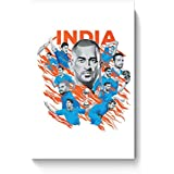 PosterGuy Poster - Men In Blue Indian Cricket Team India Cricket, Indian Team, Cricket, Team India