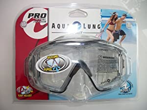 Buy Aqua Lung Pro Series Silicone Swim Mask Adult by Pro Series