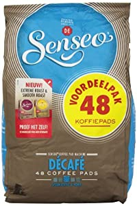 Senseo Decaffeinated	Coffee Pods 48-count Pods