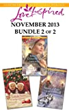Love Inspired November 2013 - Bundle 2 of 2: Rebeccas Christmas Gift\Yuletide Twins\Season of Hope