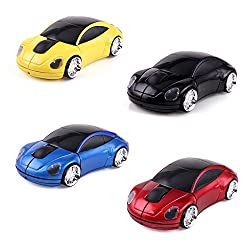 Technotech Wireless Mouse Car Edition (Color May Vary)